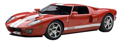 1/18 フォード GT(レッド×ホワイトストライプ) 73021