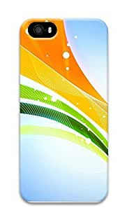 iPhone 5 5S Case 3D Colorful Ribbons 3D Custom iPhone 5 5S Case Cover