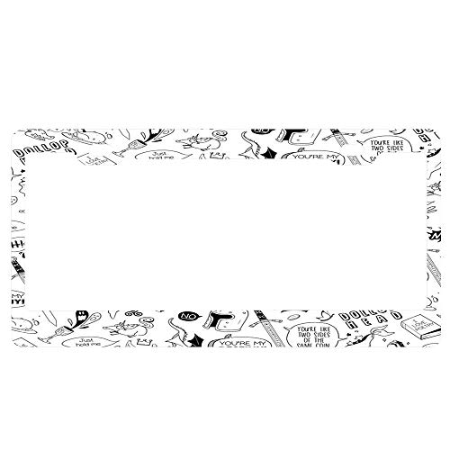 merlin license plate frame - 1