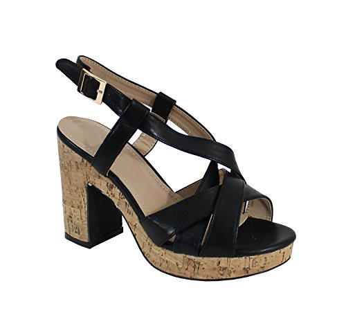 By Shoes - Zuecos para Mujer Negro