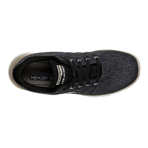Homme Advantage Baskets Skechers 0Stally Blk Noirblack 3 Flex qpUSVMz