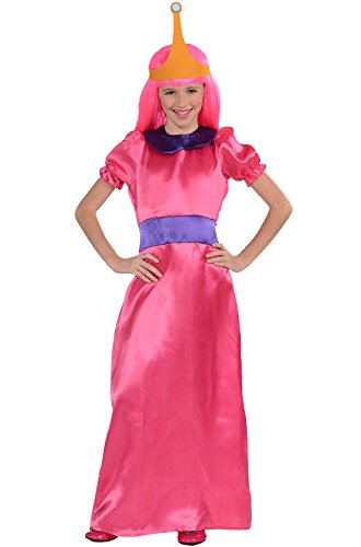 Adventure Time Toddler Costume (Adventure Time Child's Bubblegum Princess Costume, Large)