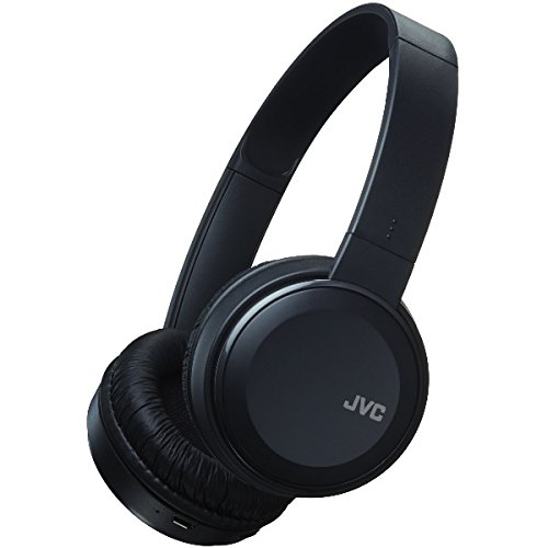 JVC S30BT Over Ear Bluetooth Wireless Foldable Headphones with Dynamic Deep Bass Boost - Black