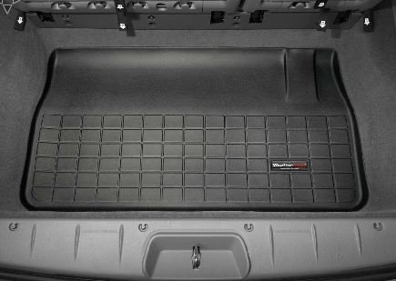 2008-2013 Chrysler Town & Country WeatherTech Cargo Liner (Black) (Country Weathertech Cargo Liner)