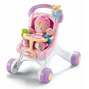 Fisher-Price Brilliant Basics Stroll-Along Walker - 41 2Bz8UlKYJL - Fisher-Price Brilliant Basics Stroll-Along Walker