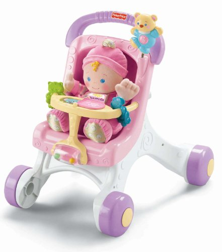 Fisher Price Brilliant Basics Stroll Along Walker