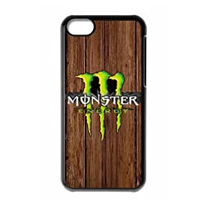 Printed Cover Protector Twcqv Monster Energy For iPhone 5C Cell Phone Case Unique Design Cases