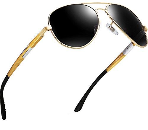 Metal Marco Súper Gafas De Oro Sol Hombres Al ATTCL Mg Polarizadas De Ligero q4xzZgWPXw