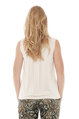 Max Mara - Camisas - Sin mangas - para mujer Beige