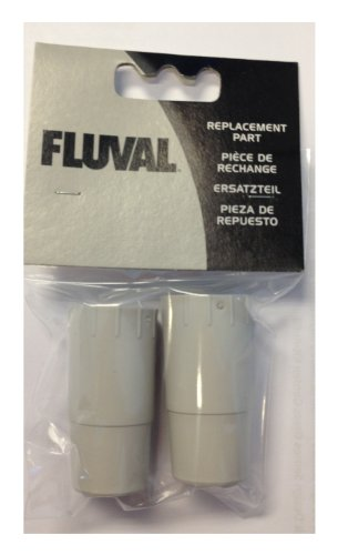 Fluval Rubber Adapter for Ribbed Hosing, 304, 305, 404, 405 (2 Pieces)
