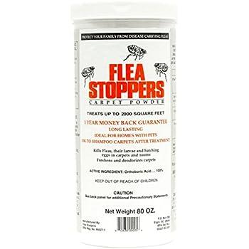 Amazon Com Flea Stoppers Carpet Powder Kills Flea Larvae
