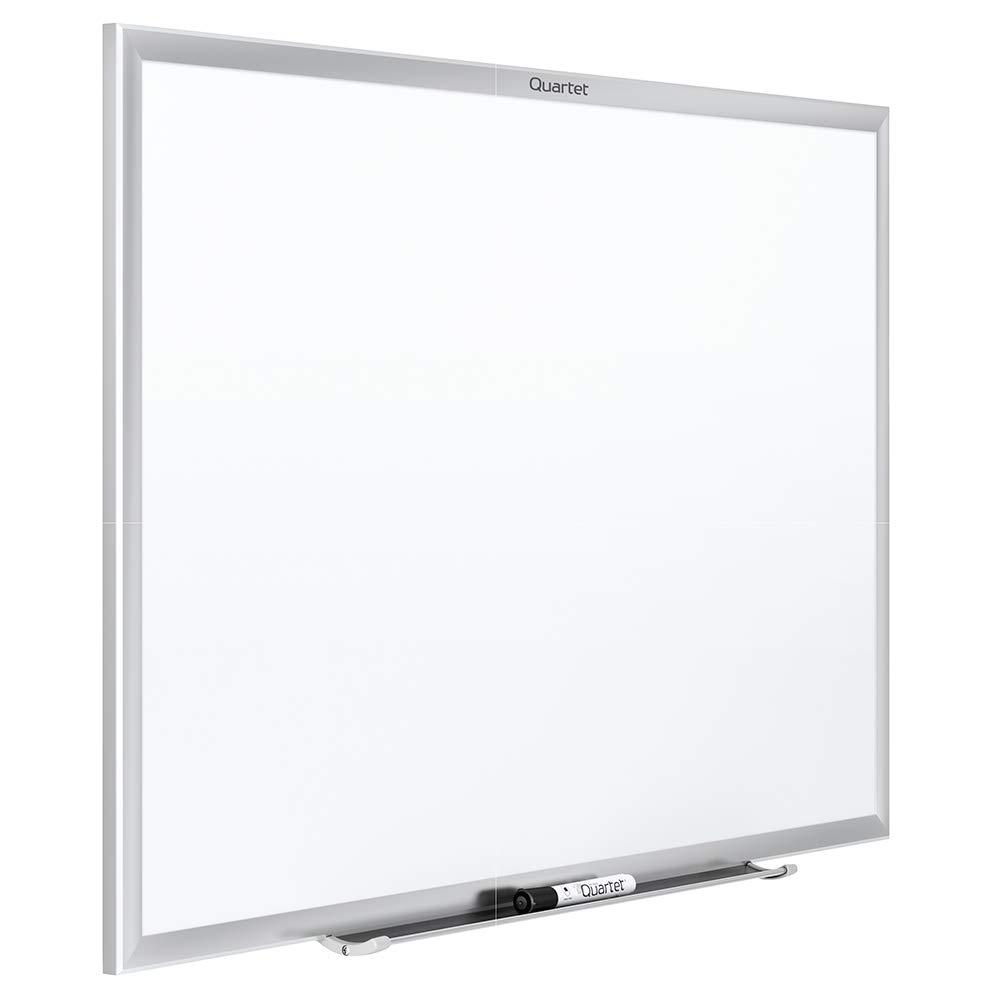 Quartet Magnetic Whiteboard, 8 x 4 feet White Board, Dry Erase Board, Classic Series, Silver Aluminum Frame (SM538) by Quartet