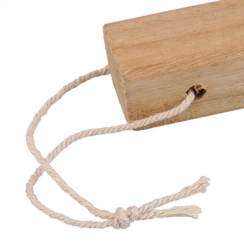 RDEXP Natural Camphor Wood Aromatic Non-toxic Clothes Protector Moth Repellent Wood for Closet Drawer Storage Set of 20 by RDEXP (Image #4)
