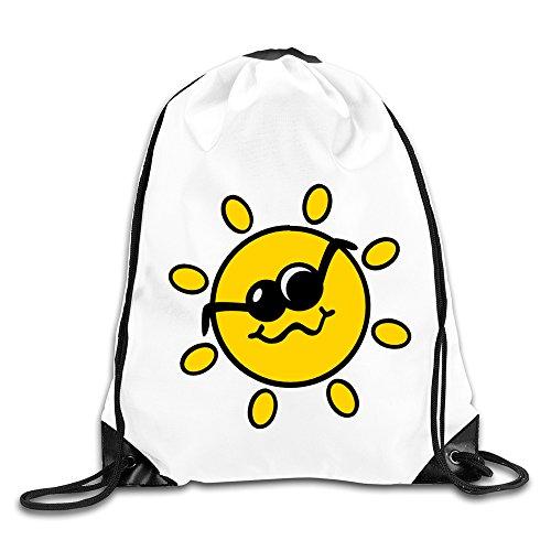 Eronp Smile Sun Drawstring Backpacks - Oakley Sunglasses Sport Cheap