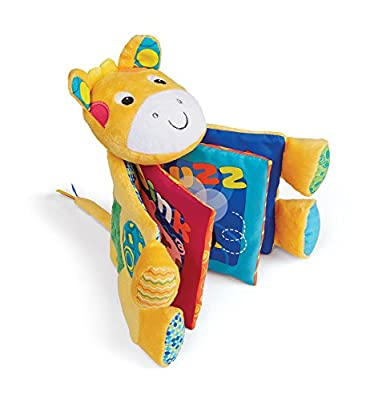 Earlyears Farm Friends Crinkle Book - Machine Washable Baby Book Teaches Fun Animal Sounds - Cuddly & Soft for Ages 3 Months and Up by International Playthings that we recomend individually.