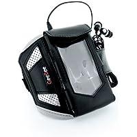 GeeBee Ultimo Sports Mp3 Armband Sportsband (Black) - for Large Mp3 Players Philips Gogear Hd6320 Hd6330 Sa6015 Sa6025 Sa6045 Sa5125 Sa5115 Sa5145