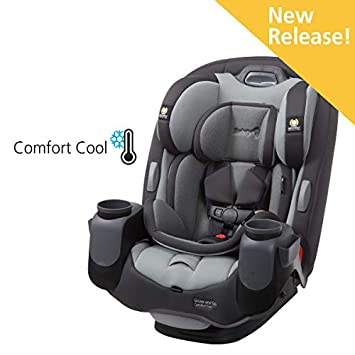 Safety 1st Grow And Go Comfort Cool 3 In 1 Convertible Car Seat Pebble Path
