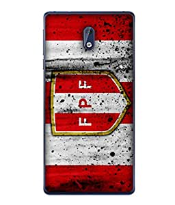 ColorKing Football Peru 11 Multicolor shell case cover for Nokia 3