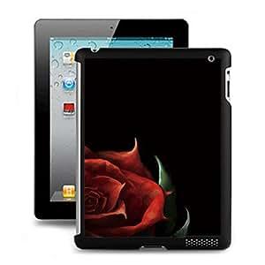 CL - Negro 3D Efecto Volver Funda para el iPad 2/3/4