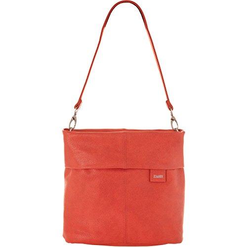 Zwei Mademoiselle M8 - Bolso para mujer (asa para hombro, 25 cm) Coral (Naranja)
