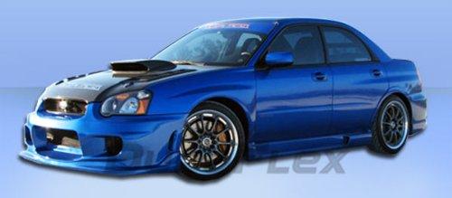 2004-2005 Subaru Impreza WRX STI Duraflex Wings Front Bumper Cover - 1 Piece