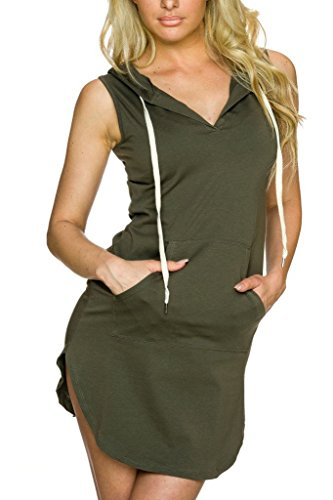 Buy dress with a hoodie - 8