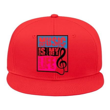 male-female-fashion-adjustable-red-hip-hop-cap-snapback-hat-with-music-is-my-life-notenschlssel-cott