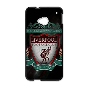HTC One M7 Cell Phone Case Black Liverpool Logo 002 Basic Cell Phone Carrying Cases LV_6062879