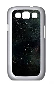 Abstract Space Polycarbonate Hard Case Cover for Samsung Galaxy S3/Samsung Galaxy I9300 White