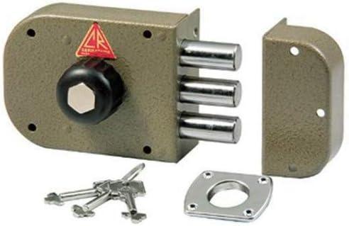 60 mm Entrata Sinistra Cr Serrature 1600 Serratura da Applicare senza Scrocco