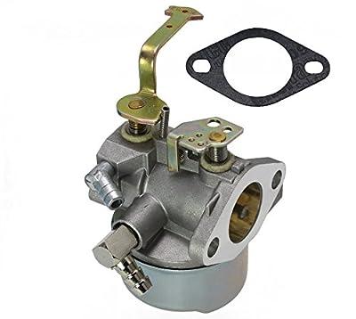 LotFancy Carburetor for Tecumseh 640152A 640023 640051 640140 640152 HM80 HM90 HM100 8-10 HP Engines Snowblower Mower 5000w Generator