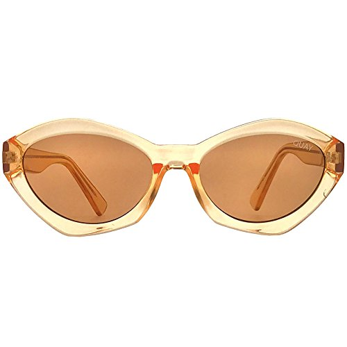 Quay Australia X Kylie Jenner As If! Sunglasses in Orange + POM - Glasses Jenner Kylie