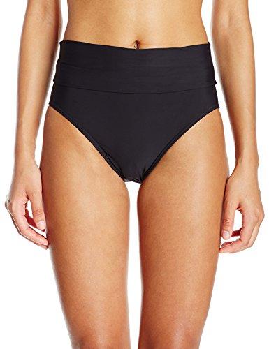 Swim Systems - Covertible Roll Top Full Coverage Bikini Bottom Swimsuit