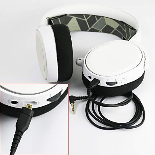 c570ea38fb8 NewFantasia Replacement Audio Cable Compatible with SteelSeries Arctis 3,  Arctis Pro Wireless, Arctis 5