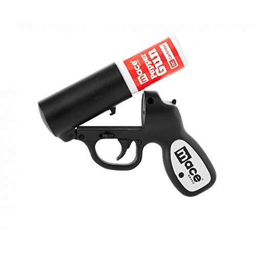 Mace-Brand-Self-Defense-Police-Strength-Pepper-Spray-Gun-with-Strobe-LED