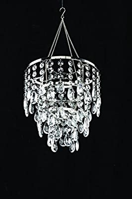 ZAPPOBZ HLLGS03 Pendant Chandelier, Large, Crystal