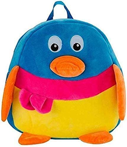 RVA Kids Polyester Soft Toy Stuffed Spongy Hugable Cute Duck Bag (Sky Blue)