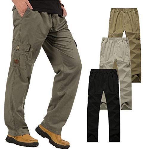 Cómodo Battercake Y Flojos Hombres Bolsillos Con Grau Pantalones Para Rectos Vaqueros r8rCq7