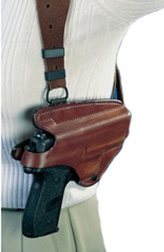 Bianchi X16 Agent X Rig Unlined Holster - Small Rev (Right Hand) (Bianchi Suede Shoulder Holster)