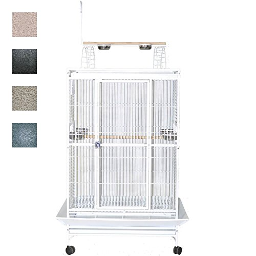 A and E Stainless Steel Playtop Bird Cage 38 Inch by A&E Cage