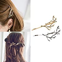 PCEPEIVK Vintage Gold Silver Tree Hair Clips Girls Alloy Branch Hairpins Fashion Hairgrips Lady Elegance Metal Hair Accessories for Women