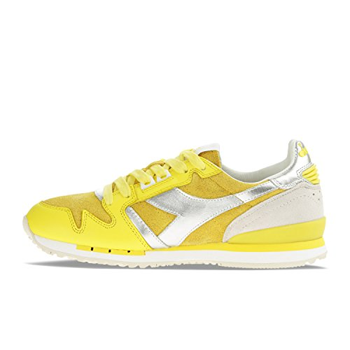 W Sneakers Exodus Donna Glitter Giallo 35014 Heritage Utility per Diadora 4tnxAq