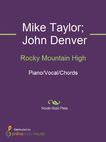Rocky Mountain High - Kindle edition by John Denver, Mike Taylor ...