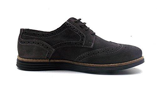 à homme MARA de 43 Taille lacets EU Gris Chaussures Gris ville pour qnqtOBUTw