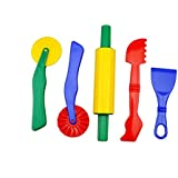 Strokes Art Durable Clay and Dough Tools Five Piece Set - Ages 3 & Up