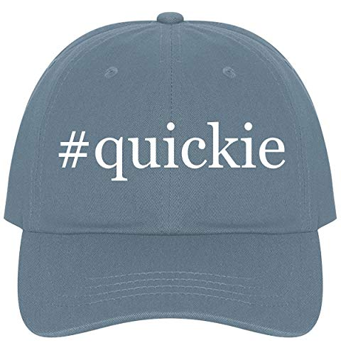 The Town Butler #Quickie - A Nice Comfortable Adjustable Hashtag Dad Hat Cap, Light Blue