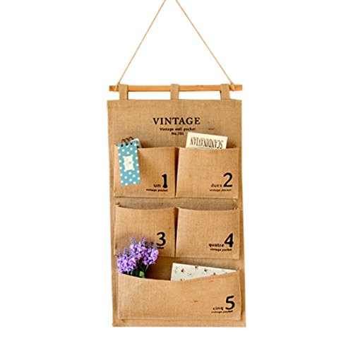 Hoomall Hanging Storage Organizer Pocket