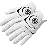 New 2017 FootJoy WeatherSof Mens Golf Gloves (2 Pack) (Small, Worn on Left Hand)