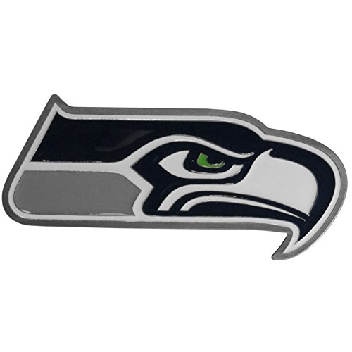 Siskiyou NFL Seattle Seahawks Large Hitch Cover Class II & III Metal Plugs