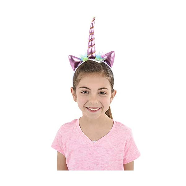 Unicorn Headband - (Pack of 12) Unicorn Headbands for Girls, Party Favors and Rainbow Unicorn Birthday Party Supplies… 4